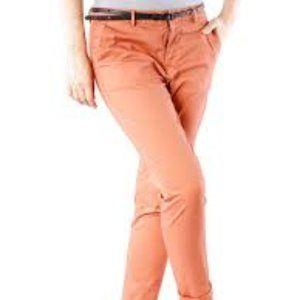 MAISON SCOTCH | Orange Straight Chino Pant 25